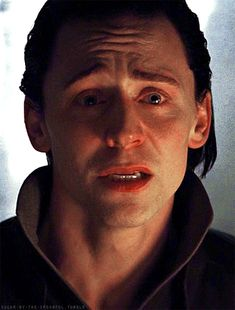Tom Hiddleston - gif --- all the feels i get from the emotions that are in his face are going to kill me...