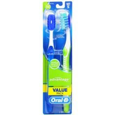 Oral-B Advantage 123 Toothbrush 2 Each