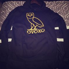 43895259906043 Drake OVO Owl Hoodie Large Mens Large OVO owl hoodie in great condition OVO  Tops Sweatshirts   Hoodies