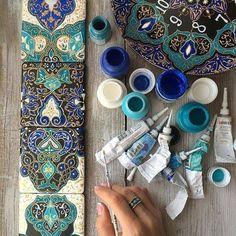 Ручная роспись керамической плитки