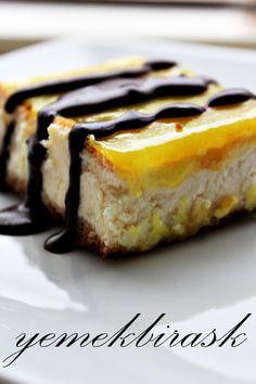 yemek bir aşk: limon soslu cheesecake