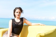 #DIESSE #FallWinter2016/17 #Sleeveless dress, lace top, floral tapestry print, round neck, jewel belt #model #GiadaAnastasio#photographer #MariannaDepasquale #MakeUpArtist #LudovicaDePera #designer #DiegoSalerno  http://www.diessefashion.it/