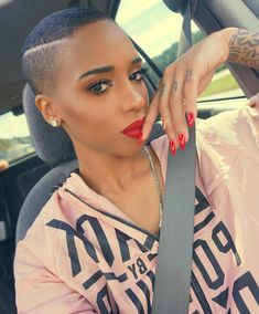 Crazy Big Chop Hairstyles For African American Woman To Copy Big Chop Hairstyles, Short Spiky Hairstyles, Twa Hairstyles, Short Hair Cuts, Blonde Pixie Cuts, Dreadlock Hairstyles, Black Hairstyles, Wedding Hairstyles, Short Natural Haircuts