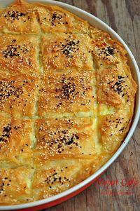 sodalı-peynirli-börek Armenian Recipes, Turkish Recipes, Turkish Breakfast, Bread And Pastries, Different Recipes, International Recipes, Food To Make, Easy Meals, Food And Drink