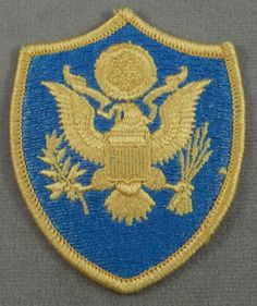 US Army - Department Of Defense Joint Personnel, Full Color Patch
