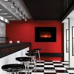 """Modern Flames 40"""" CLX Series Linear Electric Fireplace   WoodlandDirect.com: Indoor Fireplaces: Electric #LearnShopEnjoy"""