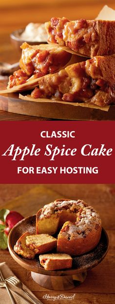 Our bakers slice premium apples into a cinnamon and sugar mixture and bake them in moist vanilla batter, resulting in a standout among gourmet cakes. This gourmet treat makes a thoughtful gift, especially as a surprise sweet treat.