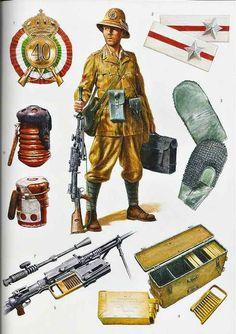 """Caporal Maggiore mitragliere - 40° Reggimento Fanteria 25ª Divisione """"Bologna"""" - 1941"""