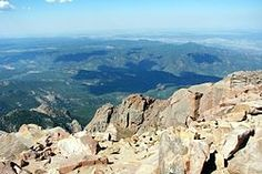 Pikes Peak in Colorado -- This was the place that inspired Katherine Lee Bates to write the lyrics to America the Beautiful in 1893.  At the Summit, I was the only one who was not lightheaded & I enjoyed the hot chocolate in July!  So different from coastal Texas.  July 1977