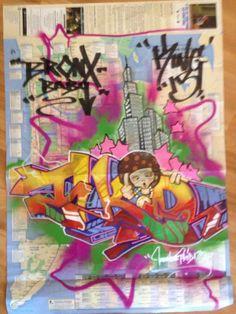 T-KID http://www.widewalls.ch/artist/t-kid/ #graffiti