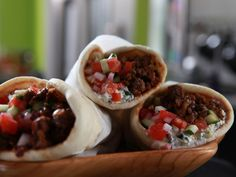 Greek Taco! Recipe : Jeff Mauro : Food Network - FoodNetwork.com