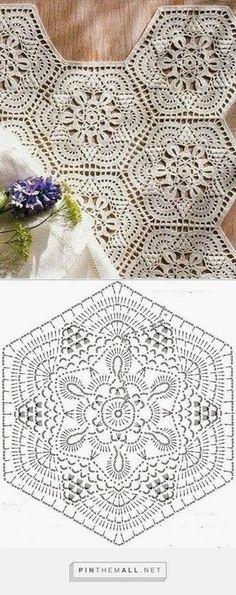 Crochet Diagram. / Crochê Diagrama.