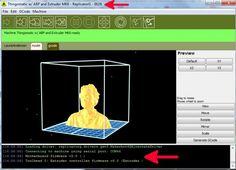 El software ReplicatorG es un software libre el cual podrá utilizar con impresoras 3D de tipo CNC tales como la MakerBot, Thing-O-Matic, CupCake, RepCap, etc… Este software soporta archivos del tipo G-Node o STL para trabajar. Como ya sabemos, estos archivos los el standard para el ...