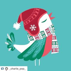 #Repost @_charlie_pop_  #fritziflock  Outch ! I've been about to forget to post a bird for the #fritziflock ! So here is mine ready to fly with his fellows of  @fritzi.flock ! by fritzi.flock