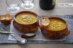 1366 2000 14 Soup Recipes, Vegetarian Recipes, Healthy Recipes, Spanish Food, Spanish Recipes, Creme, Tapas, Good Food, Veggies