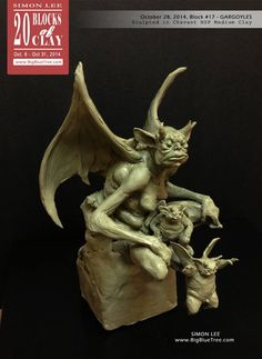 Simon Lee Spiderzero 20 Blocks of Clay Block 17 Gargoyles