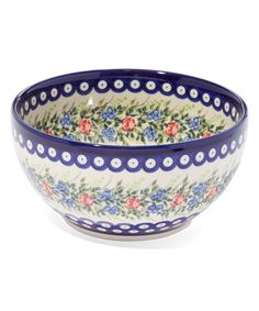 Love this Rose Berry Bowl 7.5'' Bowl on #zulily! #zulilyfinds
