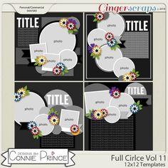 Full Circle Volume 11 - 12x12 Temps (CU Ok) by Connie Prince