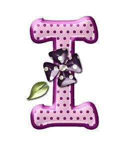 Alfabeto floral rosas...I