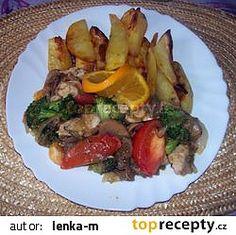 Krůtí maso na saturejce recept - TopRecepty.cz Beef, Food, Meat, Essen, Meals, Yemek, Eten, Steak