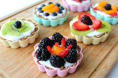 Easy mini fruit tarts recipe