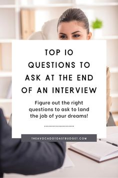 Navigating adulthood can be hard, especially when it comes to job interviews. We spend a lot of time thinking about what interview questions we will be asked and how to best answer interview questions, but we don't think a lot about what the best interview question are for us to ask. I have done a lot of research on interview questions and tested out tons of interview questions I found on google. Here are the top 10 best interview questions to ask at the end of an interview. #millennialmoney