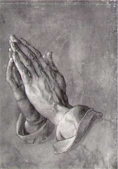 """""""Praying Hands"""" - Albrecht Durer, 1508. God, Grant me the Serenity to accept the things I cannot change,  Courage to change the things I can,  And wisdom to know the difference."""