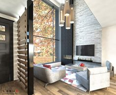 walk-in. Au sous-sol il sera possible d'aménager une India Architecture, Small House Plans, House Layouts, Architect Design, Tiny Living, Modern House Design, Home Goods, How To Plan, Interior
