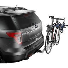 Road trip, anyone?  Check out the Thule Helium Aero 3 Bike Hitch Rack