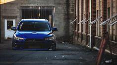 Blue Mitsubishi Lancer Evolution X Tuning Wallpaper - http://www.gbwallpapers.com/blue-mitsubishi-lancer-evolution-x-tuning-wallpaper/ (Blue, Evolution X, Mitsubishi Lancer, Tuning, Wallpaper / Cars)