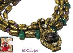 Medieval clay necklace