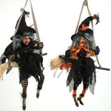 HANGING WITCH DOLLS  So cute!!