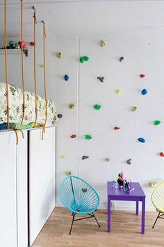 Как правильно оформить комнату школьника, двух школьников Bedroom Themes, Kids Bedroom, Bedroom Ideas, Bed Ideas, Bedroom Wall, Bedrooms, Indoor Climbing Wall, Casa Kids, Deco Kids