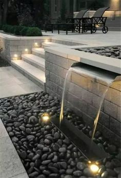31 Stunning Modern Water Feature for Your Landscape
