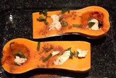 Butternut squash with sage and cinnamon