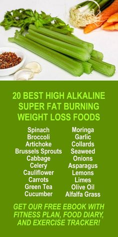 20 Best High Alkaline Super Fat Burning Weight Loss Foods. Learn about Zija's potent Moringa based weight loss products. Get our FREE eBook with suggested fitness plan, food diary, and exercise tracker. Increase energy, burn fat, and lose weight more effi