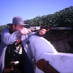 From guns to garb, cowboy shooting takes you back to the Old West.