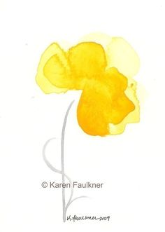 Art, Print, Giclee Print of Watercolor Painting: Spring Sunshine on Etsy, $15.00