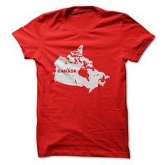 Map of Canada T Shirt, Hoodie, Sweatshirt