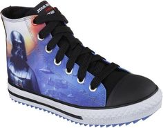 Star Wars Skechers High-Tops Shoes - Star Wars Shoes - Ideas of Star Wars Shoes #starwars #shoes #starwarsshoes - Pin for Later: Star Wars Gear (in Time For the New Movie!) That Your Little Jedi Will Love This Holiday Star Wars Skechers High-Tops Shoes Star Wars Skechers Jagged Darth Vader Boys High-Tops Shoes ($45 originally $50) Online Sneaker Store, Star Wars Shoes, Skechers Elite, Star Wars Gifts, Shoe Deals, Boys Shoes, Clarks, Casual Shoes, High Tops
