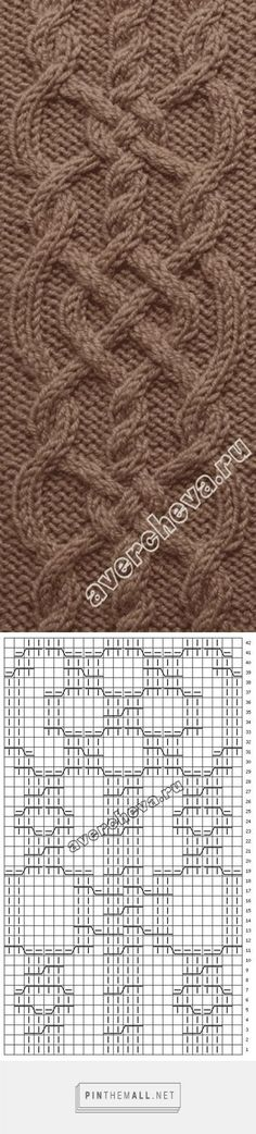 Knitting stitches cable beautiful 27 Ideas for 2019 Cable Knitting Patterns, Knitting Stiches, Knitting Charts, Lace Knitting, Knitting Designs, Knit Patterns, Knitting Projects, Crochet Stitches, Stitch Patterns