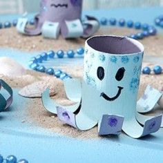 Unter dem Meeeeeeer... Kindergeburtstag feiern Ideen zur Motto Party Meerjungfrau, Arielle, Unter dem Meer ,Ideen für Mädchen, Basteln, Bastelideen, DIY, Deko, Tischdeko, Dekoration