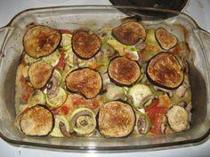 Fotorecept: Zapekaný baklažán, cuketa a syr