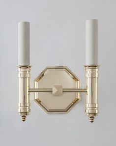 Edward Twin Sconce (is1114.2)  | Remains.com