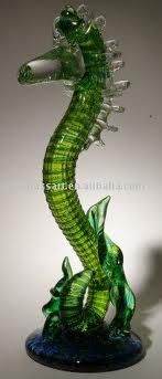 Sea dragon :)    glass animal figurine Murano