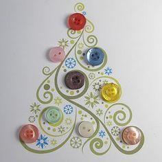 Idéias de árvores de Natal | MEU MUNDO CRAFT