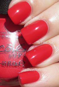Nicole by OPI - Please Red-cycle