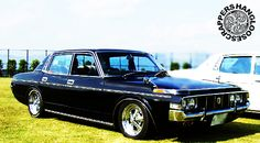 TOYOTA CROWN Toyota Crown, Cars Motorcycles, Vintage Cars, Old School, Classic Cars, Black Cars, Retro, Vehicles, Japanese