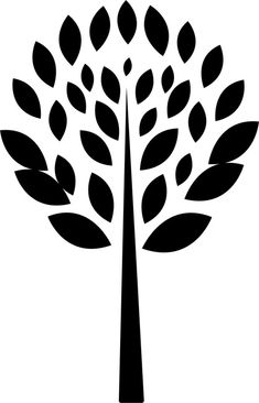 Quickly and easily create a fun and unique design on walls anywhere with our Leaves Abstract Tree Painting Stencil! Tree Stencil, Leaf Stencil, Stencil Painting, Fabric Painting, Plotter Silhouette Cameo, Create A Family Tree, Abstract Tree Painting, Freebies, Stencil Patterns
