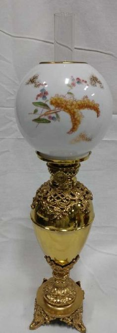 Lot: The P&A Mfg. Co. Victor Oil Lamp, Lot Number: 0294, Starting Bid: $50, Auctioneer: Long Auction Company, LLC, Auction: NEW YEARS DAY Estate Antiques & Collectibles, Date: January 1st, 2018 EST